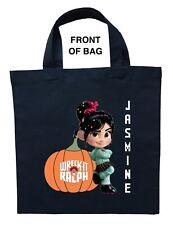 Vanellope Trick or Treat Bag, Personalized Vanellope Halloween Bag