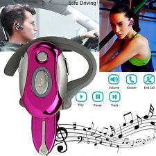 Wireless Women Girls Bluetooth Headset Headphone Foldable Stereo Earphone w/ Mic