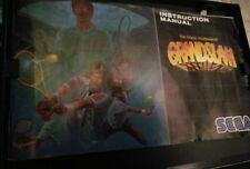 Grand Slam Tennis SEGA Megadrive Genesis Game UK GRANDSLAM
