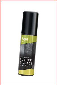 Shoe conditioner for nubuck and suede, with sponge applicator, Kaps Nubuck Suede