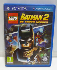 LEGO BATMAN 2 DC SUPER HEROES PLAYSTATION VITA PSVITA BOXED USED