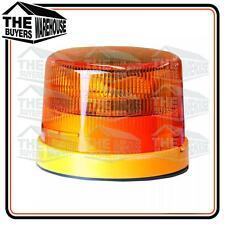 HELLA Amber LED Beacon Light Strobe Rotating Warning Flashing Hazard Emergency