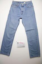 Levi's 505 regular fit (Cod.H1501) Tg.48 W34  L33  boyfriend jeans usato