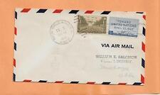 FIRST FLIGHT NEW ORLEANS LA / MUSKOGEE OKLA TR1 JUN 15,1946 R33E71