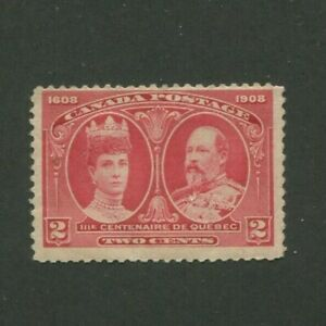 1908 Canada Postage Stamp #98 Mint Lightly Hinged F/VF