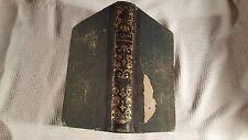 LES CONFESSIONS - Rousseau - 1848 Paris French - Leather - Philosophy