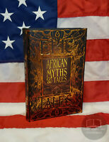 NEW African Myths & Tales Mythology Hardcover Deluxe Gift Edition Epic Tales