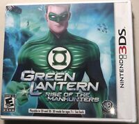 Green Lantern: Rise of the Manhunters 3DS New Nintendo 3DS