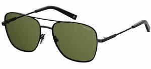 Polaroid PLD 2068/S/X Black/Green 58/17/145 men Sunglasses