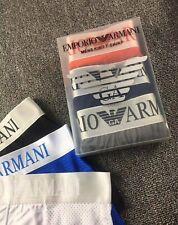 Emporio Armani Men Underwear Boxers Briefs - 5 Colors - Size M L XL