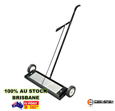 "Heavy Duty 24"" Magnetic Sweeper With RELEASE Warehouse Broom Factory Industrial"