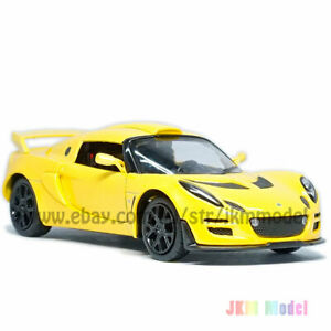 1:26 Lotus Exige Scura Model Car Diecast Toy Vehicle Gift Collection Gift Yellow