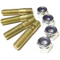Weber/Dellorto/Solex IDF/DCOE/HPMX/DHLA/DRLA/ADDHE M8 8.8 studs 30mm, nylon nut