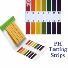 80 pcs PH Test Strips Alkaline Litmus Paper Urine Saliva Level Indicator PH 1-14