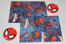 BOYS DAD MENS COMIC MARVEL SPIDERMAN GIFT WRAP SET BIRTHDAY WRAPPING PAPER