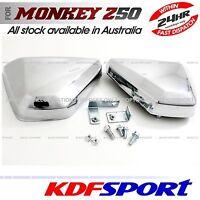 KDF SIDE FENDER COVER CHROMED PLASTIC LH RH PARTS FOR HONDA MONKEY Z50 Z50J