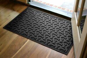 Hudson Exchange Waterhog Dog Bone Heavy Duty Floor Mat, Various Sizes/Colors