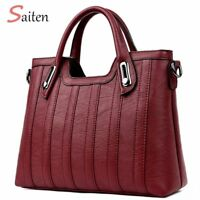Women Handbag Style Fashion Casual Faux Leather Ladies Luxury Shoulder Bag