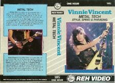vinny vincent metal tech reh instructional dvd invasion kiss