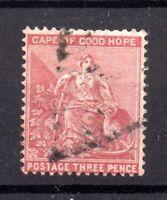 Cape of Good Hope 1880 3d SG36 WMK CC good used WS20517
