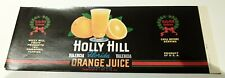 Holly Hill Orange Juice Holly Hill Fruit Products Co Inc Davenport Fl