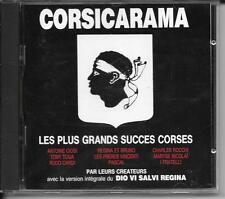 CD COMPIL 22 TITRES--CORSICARAMA GRANDS SUCCES CORSES--CIOSI/TOGA/CARDI/PASCAL..