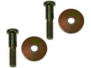 For 1969-1970 Chevrolet Kingswood Door Lock Striker Plate Bolt Set 39258RB
