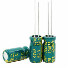 47uF 50V  Electrolytic Capacitor 105°C Pack of 6
