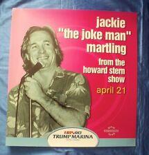 "Jackie ""The Joke Man"" Martling 2001 Trump Marina Duratran Lightbox Poster"