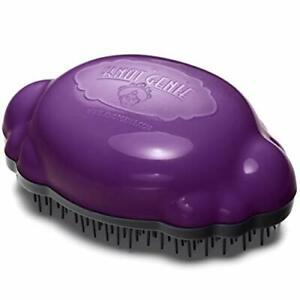 NEW - Knot Genie - Teeny Detangling Hair Brush for Kids - Purple Puff