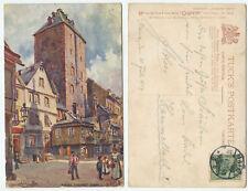 37588 - Charles E. Flower: Mainz. Eiserner Turm - AK, gelaufen 10.7.1907