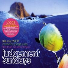 Judge Jules (Mixed by) ‎– Judgement Sundays - The Mix 2007  (2CD) NEW SPEEDYPOST
