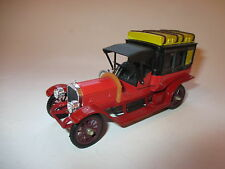 Mercedes 1908 TAXI taxa in rot rouge roja rosso red, RIO in 1:43!