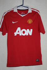 Nike Dri-Fit Manchester United Jersey 010151767 Size S Red w White #6 Connell