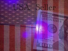4x UV Black Light LED Money Counterfeit Currency Key-chain USA Seller Free Ship