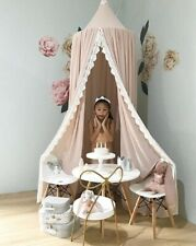 Chiffon Baby Room Decoration Lace Mosquito Kids curtain canopy Crib tent 240cm