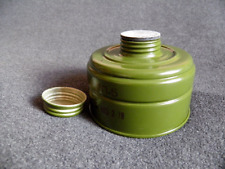 Gas mask GP-5 standard charcoal filter canister 40mm thread. New.