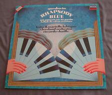 """Vinilo LP 12"""" 33 rpm GEORGE GERSHWIN - RHAPSODY IN BLUE"""