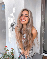 Addison Rae TikTok Star signed 8X10 inch print photo picture poster autograph RP