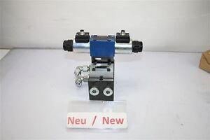 Rexroth 4WE 6 D46-620FEG24N9K72L Hydraulic Valve