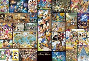 Tenyo Jigsaw Puzzle 2000 Pieces Art Collection Mickey Mouse DG-2000-533