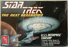 AMT ERTL Star Trek Next Generation USS Enterprise Model Kit 6619 Factory Sealed