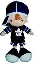 """TORONTO MAPLE LEAFS NHL HOCKEY (NEW) LOGO 13"""" INCH BOY KICKIN'S KIDS TOY DOLL"""