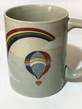 Otagiri Colorful Hot Air Balloon Coffee Tea Cup Mug