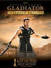 Gladiator - Russell Crowe - DreamWorks -(Dvd, 2005, 3-Disc Set) - Oop/Rare - New