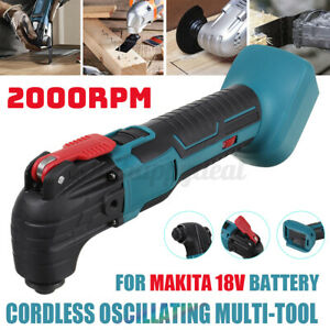 Multifunction Tool Oscillating Multi-Tools Variable Speed Electric Home Blu