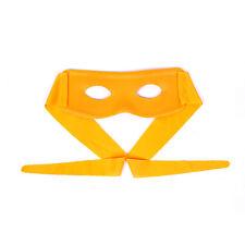 Ninja Style Mask For Super Hero / Party - Orange