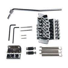 Double Locking Tremolo System Bridge For Guitar Floyd Rose Parts Silver D8P X8L7