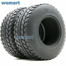 2pcs RC 2.2 Dune T/A Tires Tyre OD 113mm Fit RC Crawler 2.2 Beadlock Wheels Rims