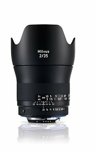 Zeiss 35mm Lens Wide Angle Prime F2 Milvus f/2 ZF.2 Nikon fit